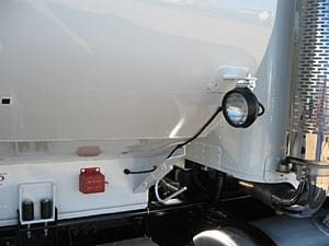 light side tank mount