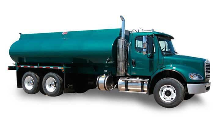 Mild Steel Painted Water Truck