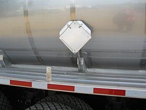 placard pole mount