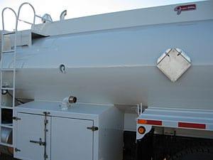 placard tank side flush mount