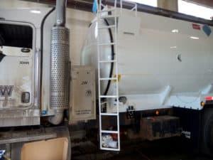 inside of a tank