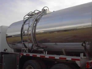 A shiny tank