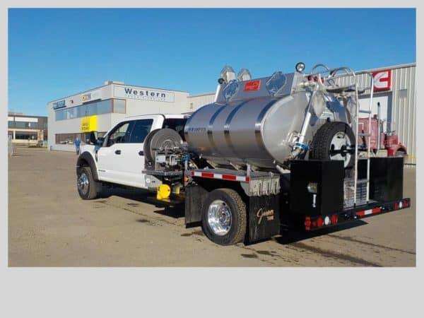 Jasper Tank TC406 SS304L Single Axle Pressure Truck